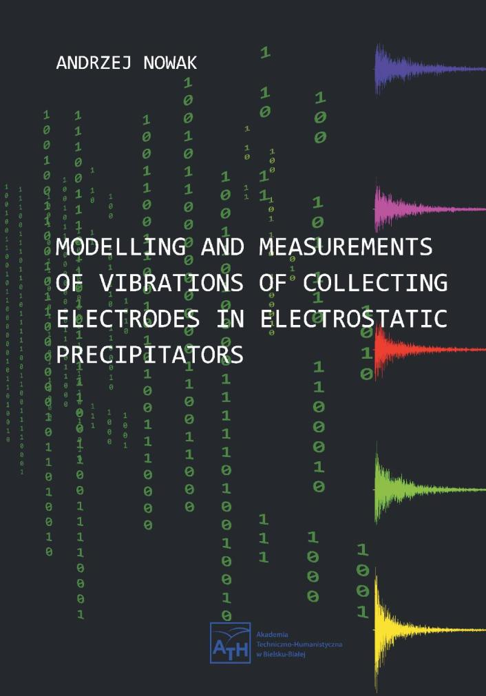 Modelling and measurements of vibrations of collecting electrodes in electrostatic precipitators